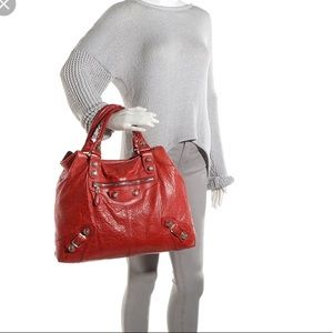 Balenciaga Giant Brief Handbag